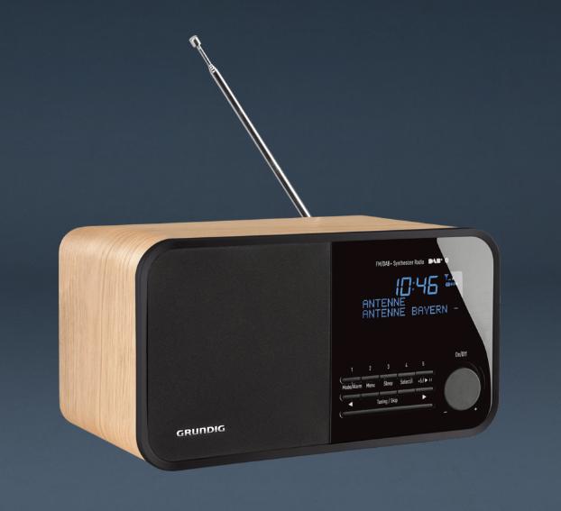 grundig tr 2500 dab fm radio bluetooth radio tv westerlund oy kodinelektroniikan verkkokauppa. Black Bedroom Furniture Sets. Home Design Ideas