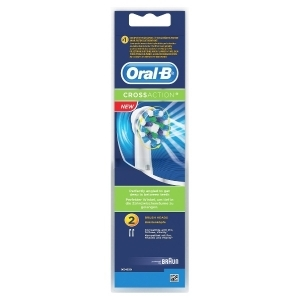 ORAL-B CROSSACTION VAIHTOHARJA 2KPL