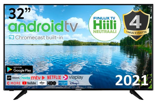 "FINLUX 32-FAE-9060 32"" ANDROID SMART LED-TELEVISIO"