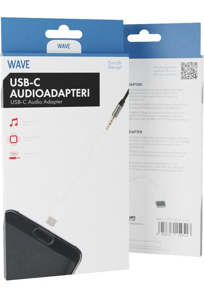 TYPE-C  audioadapteri Wave